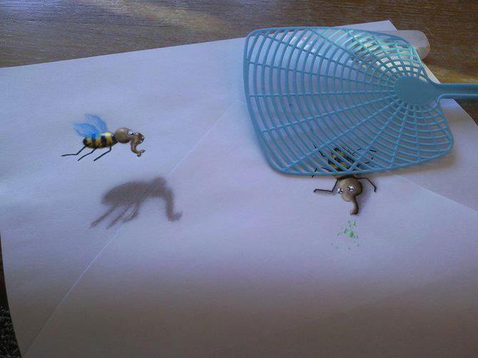 Iluzii intre 2D si 3D de Ramon Bruin - Poza 2
