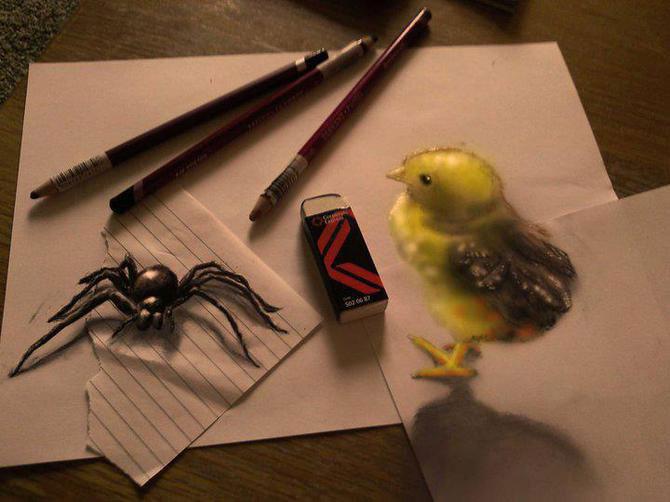 Iluzii intre 2D si 3D de Ramon Bruin - Poza 4