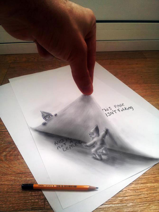 Iluzii intre 2D si 3D de Ramon Bruin - Poza 5
