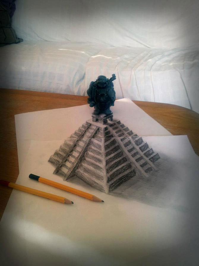 Iluzii intre 2D si 3D de Ramon Bruin - Poza 7