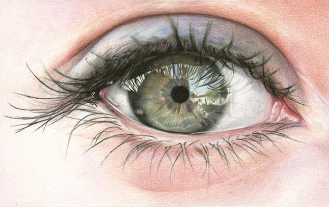 Amy Robins deseneza mai expresiv decat orice fotograf - Poza 2