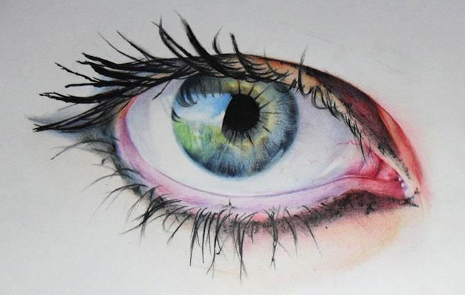 Amy Robins deseneza mai expresiv decat orice fotograf - Poza 3
