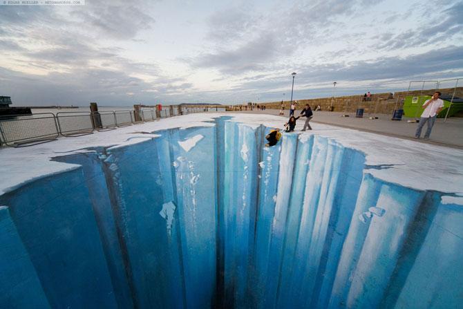 15 desene incredibil de reale pe asfalt - Poza 1