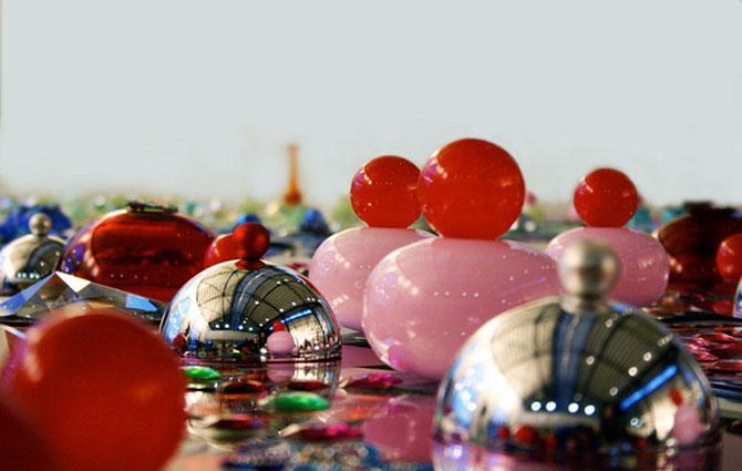 Modele multicolore, sclipitoare, de Suzan Drummen - Poza 4
