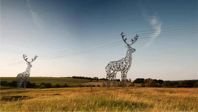 Cerbi electrici, de Design Depot