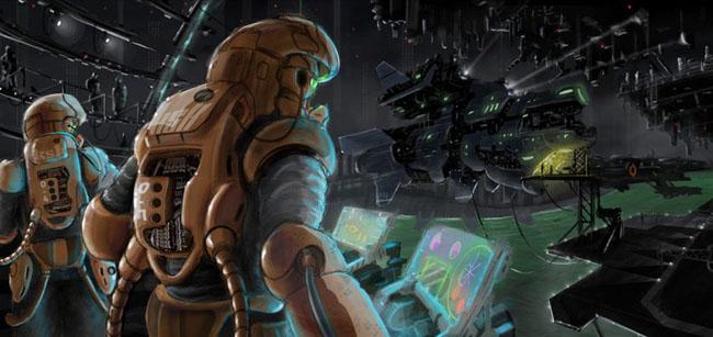 30 de creatii digitale Sci-Fi