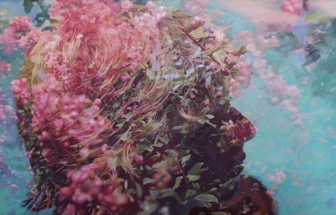 Colaje cu nori si flori de Pakayla Biehn - Poza 3