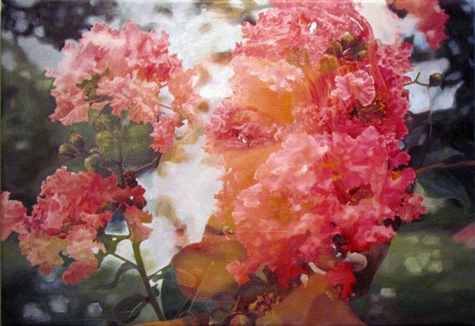 Colaje cu nori si flori de Pakayla Biehn - Poza 4
