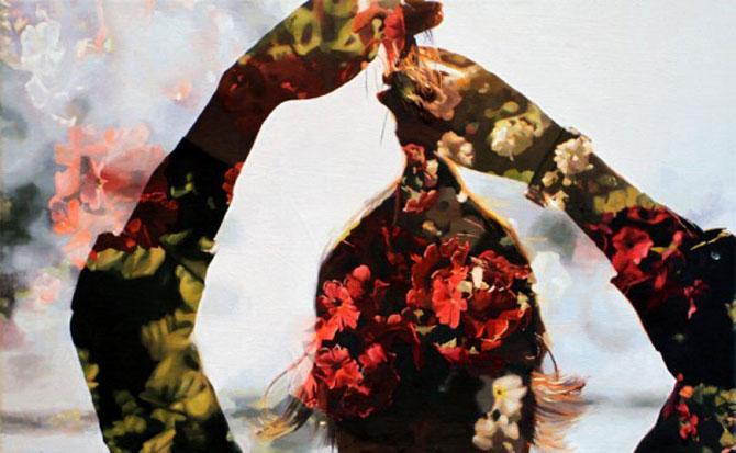 Colaje cu nori si flori de Pakayla Biehn - Poza 7