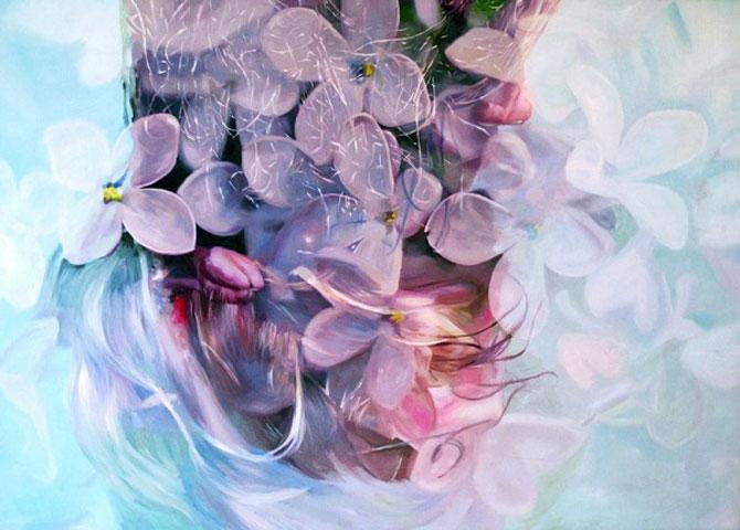 Colaje cu nori si flori de Pakayla Biehn - Poza 9