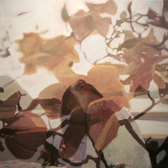 Colaje cu nori si flori de Pakayla Biehn