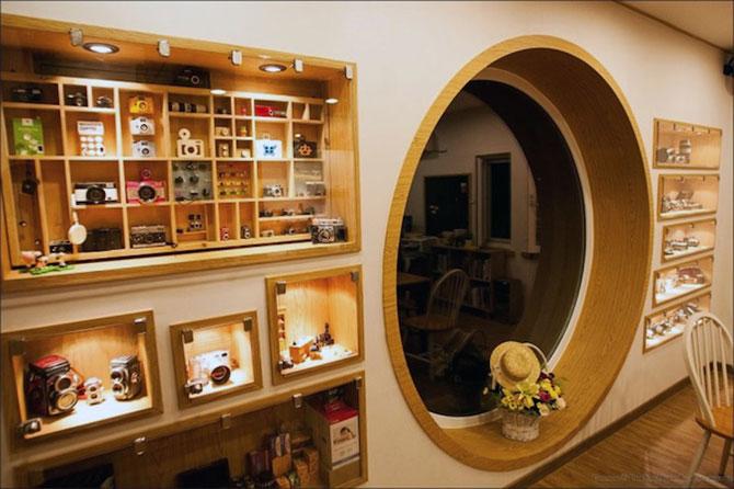 Cafeneaua in forma de aparat foto, din Coreea de Sud - Poza 3