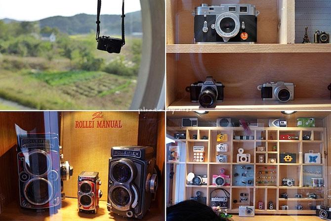 Cafeneaua in forma de aparat foto, din Coreea de Sud - Poza 4