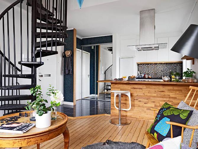 Cel mai cochet duplex, la Gothenburg, Suedia - Poza 1