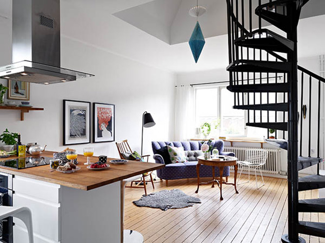 Cel mai cochet duplex, la Gothenburg, Suedia - Poza 2