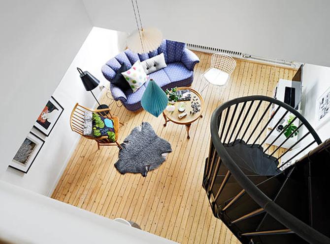 Cel mai cochet duplex, la Gothenburg, Suedia - Poza 3