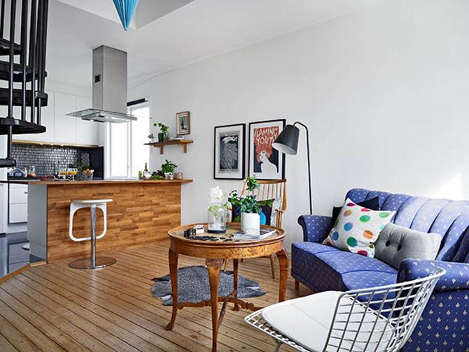 Cel mai cochet duplex, la Gothenburg, Suedia - Poza 4