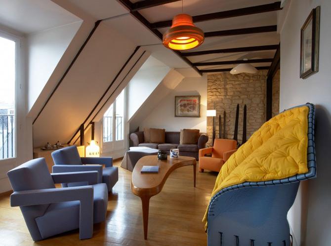 Noua moda la Paris- Duplex renovat de VMCF Atelier - Poza 2