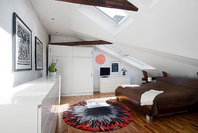 Duplex modern amenajat in lumina soarelui scandinav - Poza 2