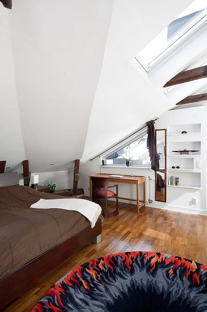 Duplex modern amenajat in lumina soarelui scandinav - Poza 4
