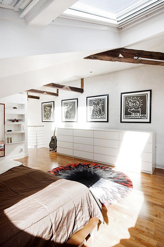 Duplex modern amenajat in lumina soarelui scandinav - Poza 5