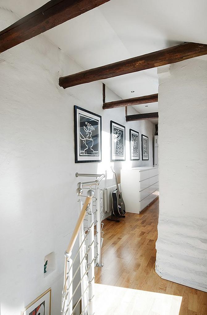 Duplex modern amenajat in lumina soarelui scandinav - Poza 6