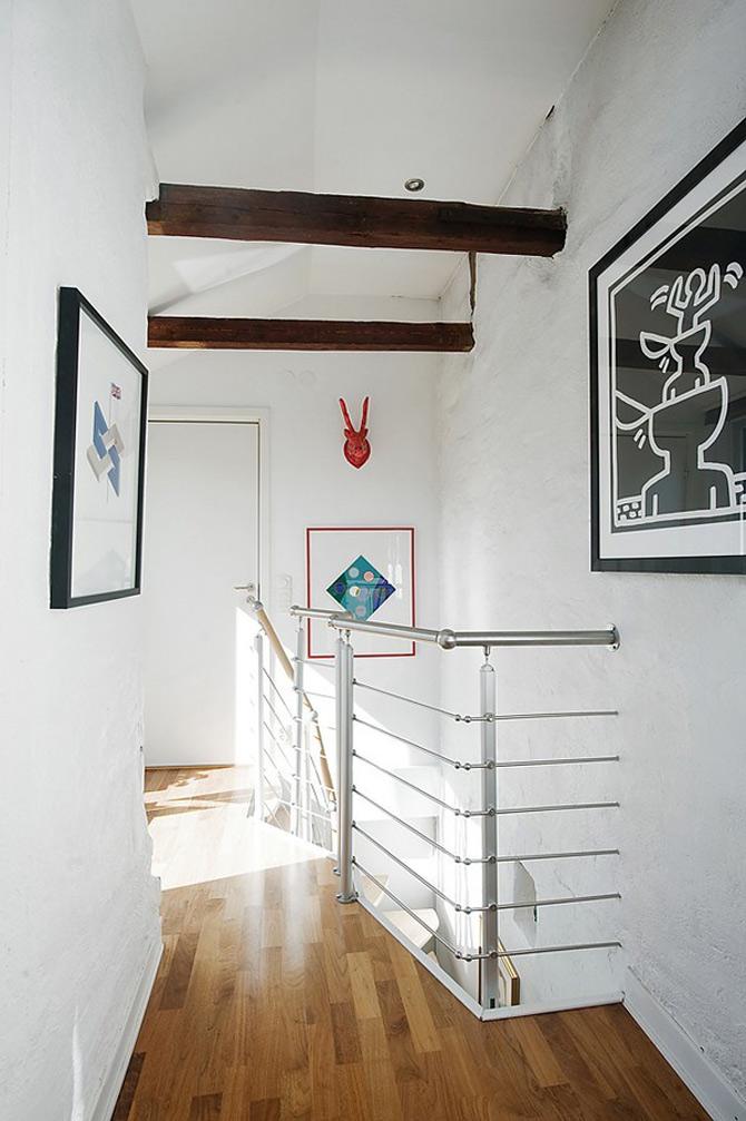Duplex modern amenajat in lumina soarelui scandinav - Poza 7