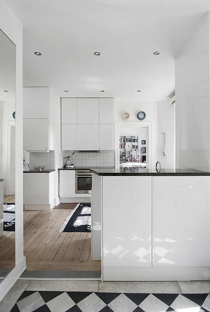 Duplex modern amenajat in lumina soarelui scandinav - Poza 9