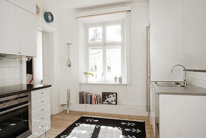 Duplex modern amenajat in lumina soarelui scandinav - Poza 10