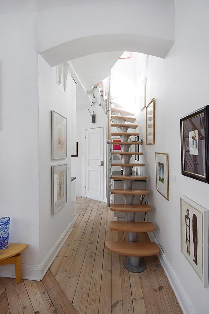 Duplex modern amenajat in lumina soarelui scandinav - Poza 11