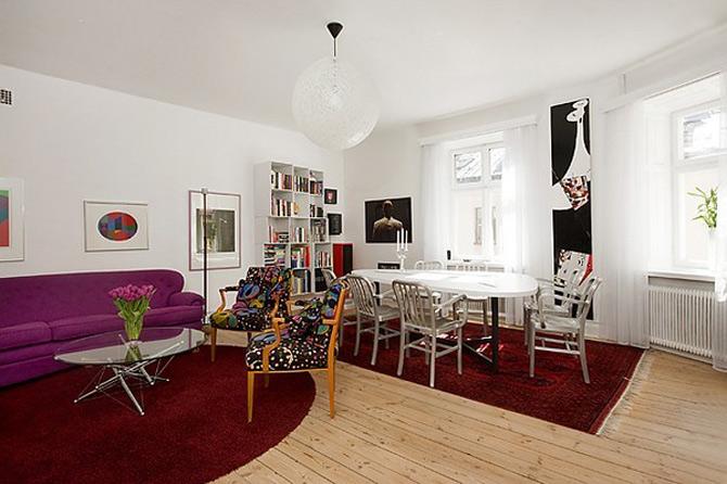 Duplex modern amenajat in lumina soarelui scandinav - Poza 12
