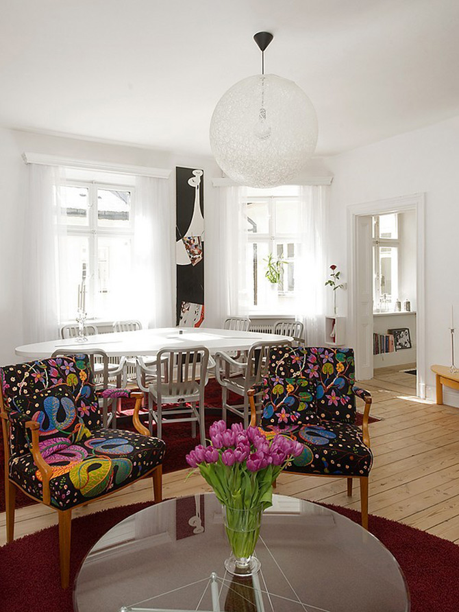 Duplex modern amenajat in lumina soarelui scandinav - Poza 14