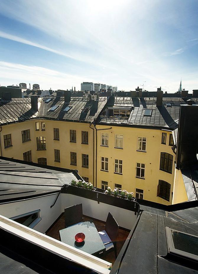Duplex modern amenajat in lumina soarelui scandinav - Poza 18