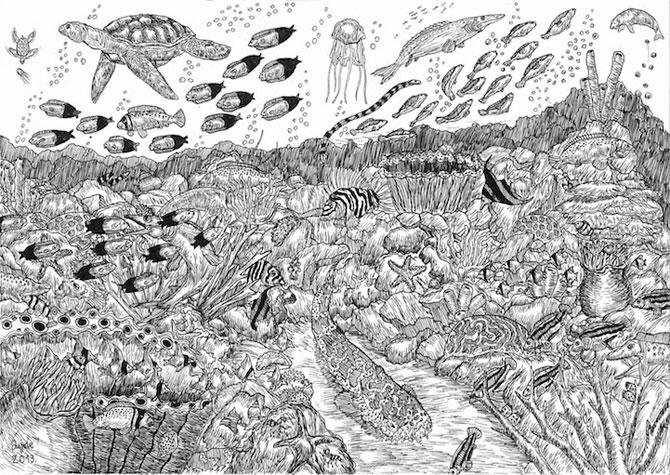 Cel mai talentat desenator de 11 ani: Dusan Krtolica - Poza 2