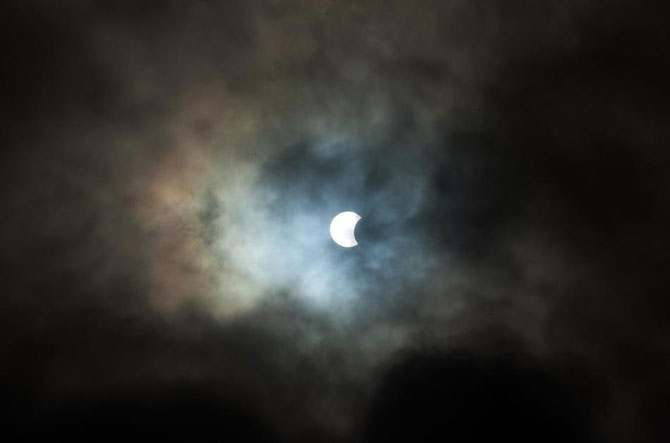 3 noiembrie: Eclipsa hibrid de luna - Poza 10