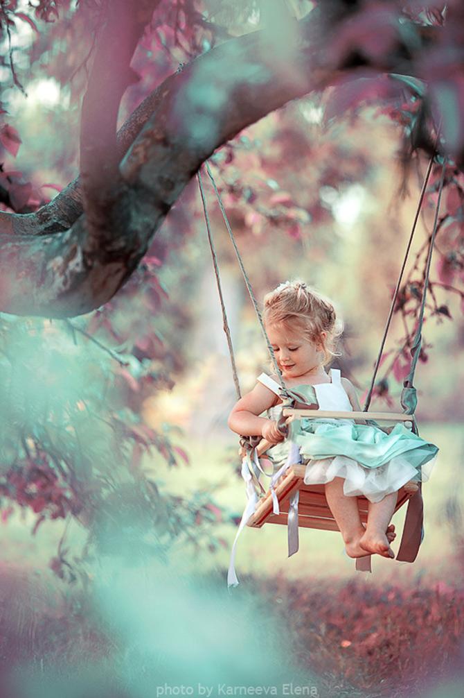 Elena Karneeva fotografiaza cei mai fericiti copii din lume - Poza 6