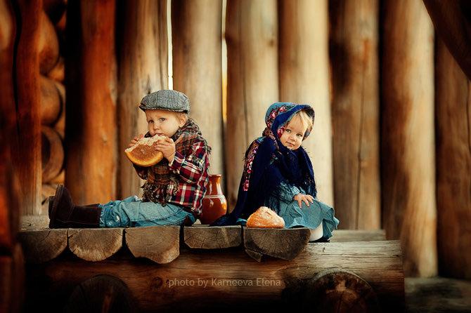 Elena Karneeva fotografiaza cei mai fericiti copii din lume