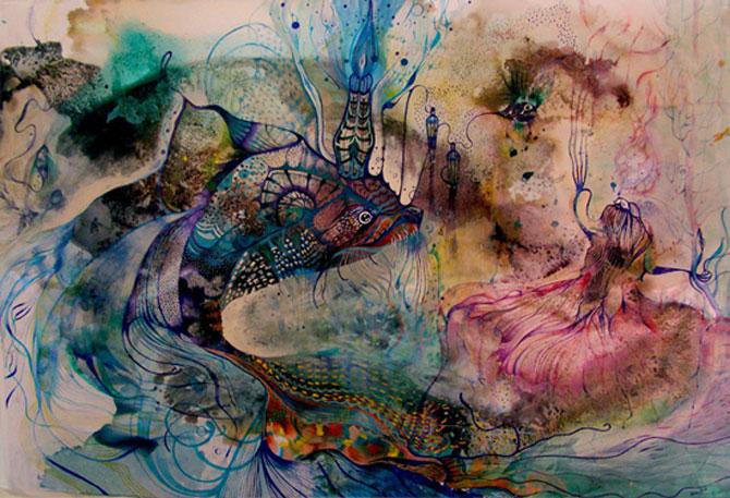 Personaje pictate cu pasiune, de Estella Cuadro - Poza 3