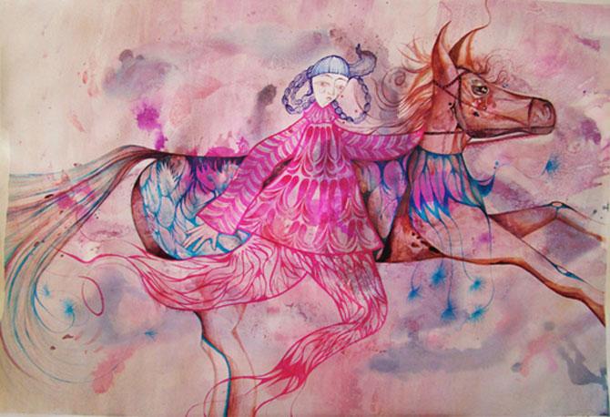 Personaje pictate cu pasiune, de Estella Cuadro - Poza 5