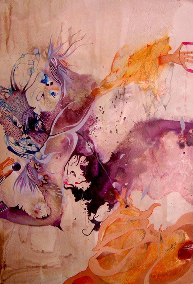 Personaje pictate cu pasiune, de Estella Cuadro - Poza 6
