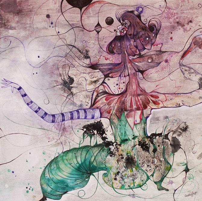Personaje pictate cu pasiune, de Estella Cuadro - Poza 8