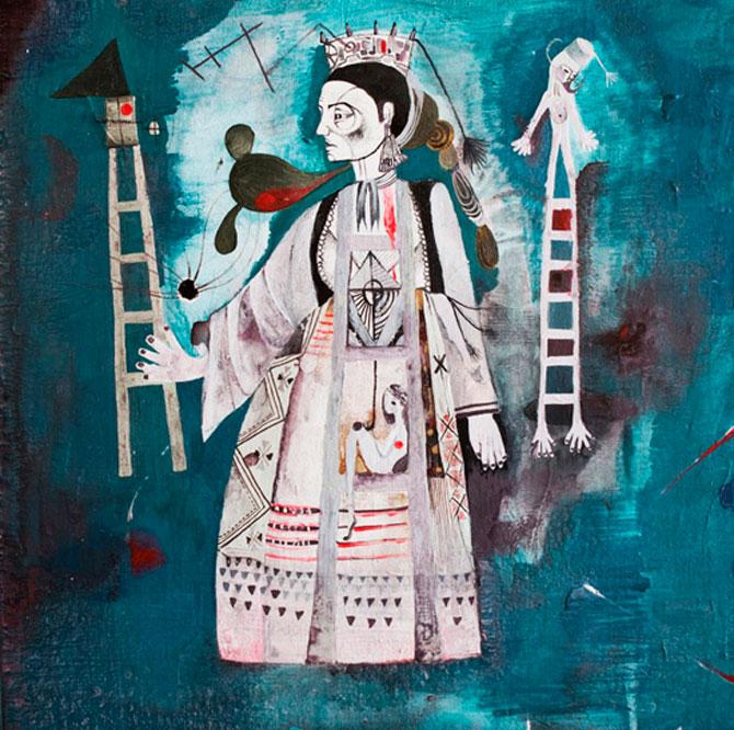 Personaje pictate cu pasiune, de Estella Cuadro - Poza 13