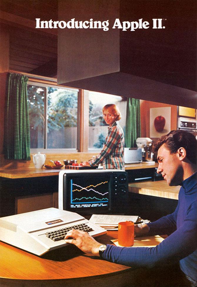 Reclamele Apple, din anii 70 pana azi - Poza 1