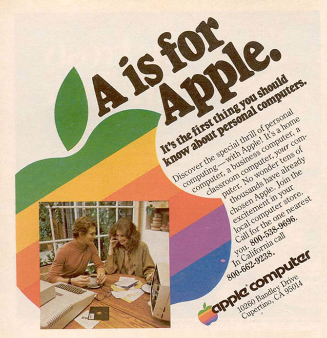Reclamele Apple, din anii 70 pana azi - Poza 2