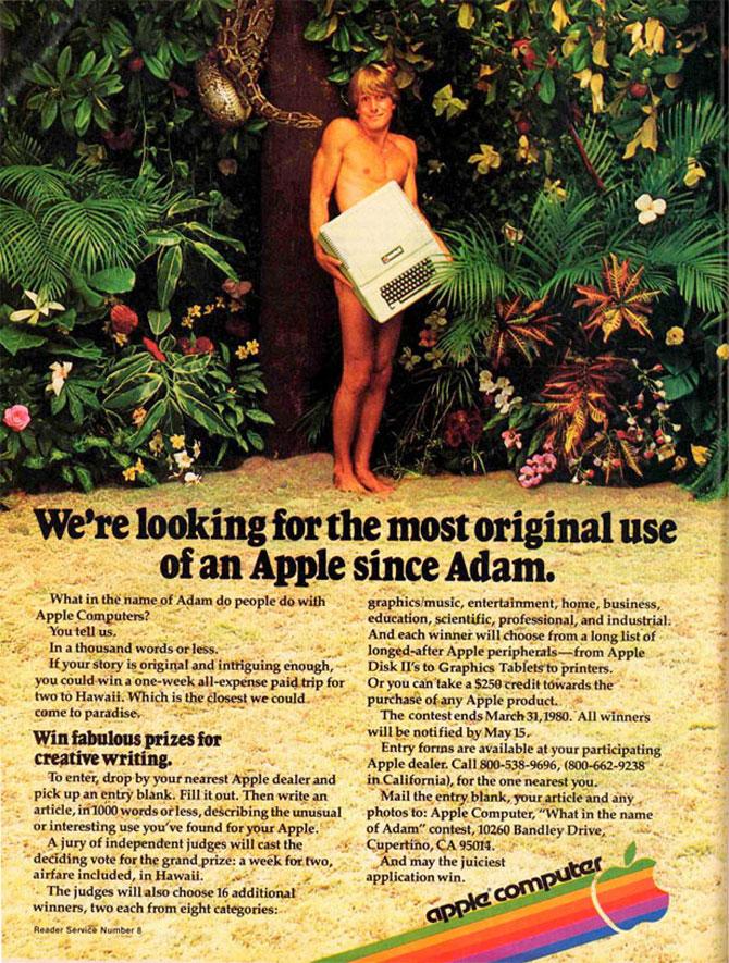Reclamele Apple, din anii 70 pana azi - Poza 3