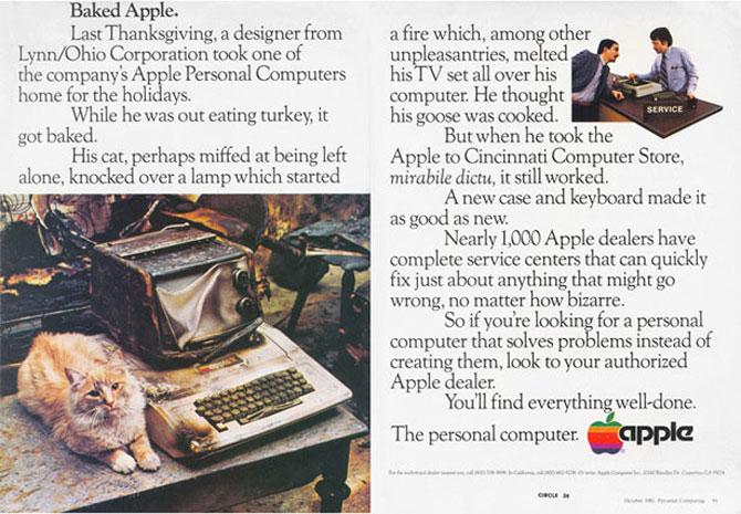 Reclamele Apple, din anii 70 pana azi - Poza 6