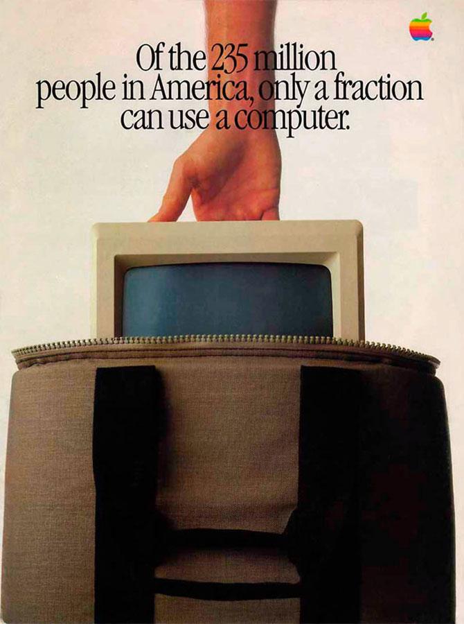 Reclamele Apple, din anii 70 pana azi - Poza 7