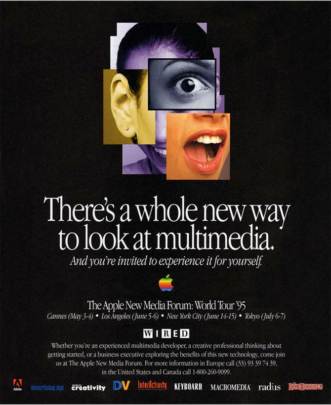 Reclamele Apple, din anii '70 pana azi
