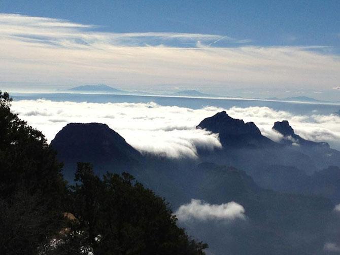 Marele Canion, umplut de un val de ceata - Poza 6