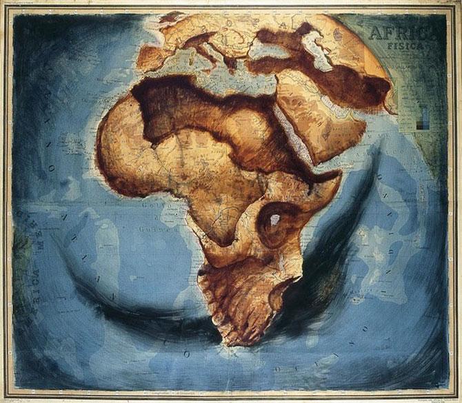 Fernando Vicente picteaza pe harti - Poza 1